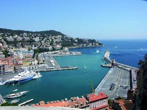Frankreich: Der Hafen von Nizza