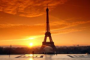 Frankreich: Blick auf den Eifelturm in Paris