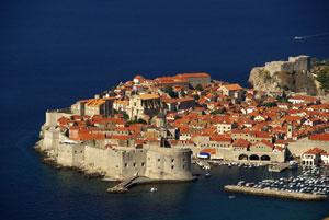 Kroatien: Blick auf Dubrovnik