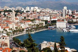 Kroatien: Blick auf Split