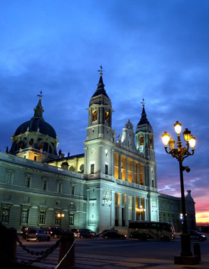 Almudena Kathedrale in Madrid