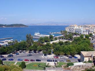 Die griechische Insel Korfu