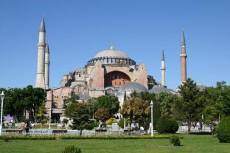 Die Hagia Sofia in Istanbul