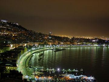 Neapel, die Hauptstadt von Kampanien