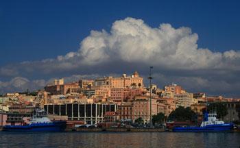 Cagliari auf Sardinien