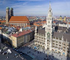 Marienplatz und Frauenkirche