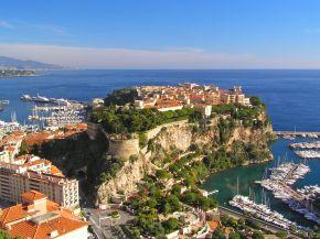 Der Fürstenhof in Monaco